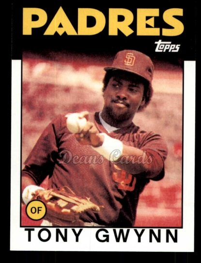 2010 Topps Cards Your Mom Threw Out #35 CMT Tony Gwynn