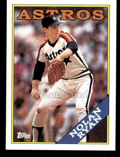 2010 Topps Cards Your Mom Threw Out #37 CMT Nolan Ryan