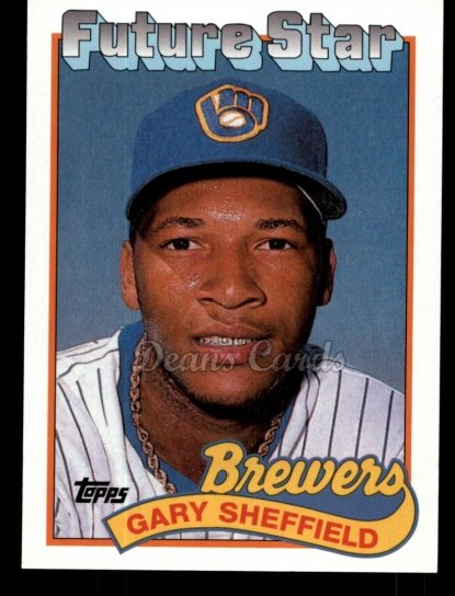 2010 Topps Cards Your Mom Threw Out #38 CMT Gary Sheffield