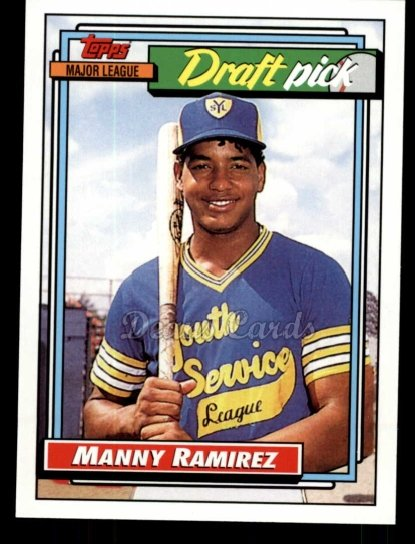 2010 Topps Cards Your Mom Threw Out #41 CMT Manny Ramirez