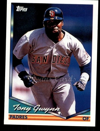 2010 Topps Cards Your Mom Threw Out #43 CMT Tony Gwynn