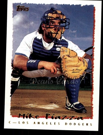 2010 Topps Cards Your Mom Threw Out #44 CMT Mike Piazza