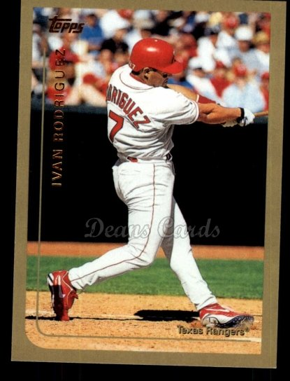 2010 Topps Cards Your Mom Threw Out #48 CMT Ivan Rodriguez