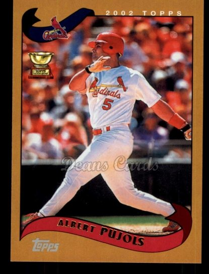 2010 Topps Cards Your Mom Threw Out #51 CMT Albert Pujols