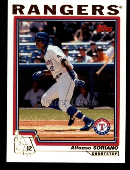 2010 Topps Cards Your Mom Threw Out #53 CMT Alfonso Soriano