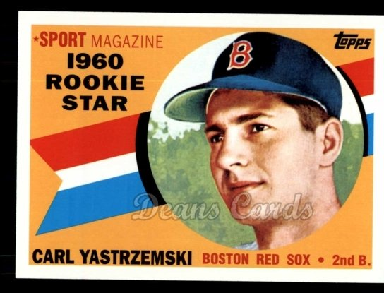 2010 Topps Cards Your Mom Threw Out #9 CMT Carl Yastrzemski