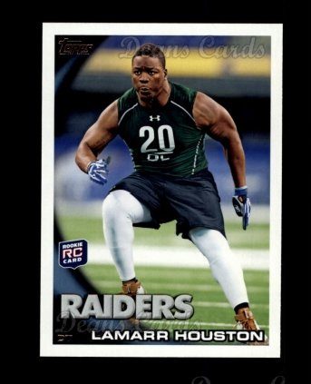2010 Topps #415  Lamarr Houston