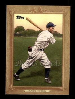 2010 Topps Turkey Red #136 TR Rogers Hornsby
