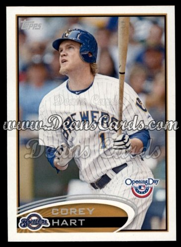 2012 Topps Opening Day #147  Corey Hart