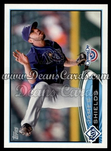 2012 Topps Opening Day #192  James Shields