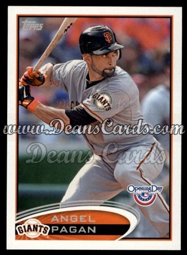 2012 Topps Opening Day #43  Angel Pagan