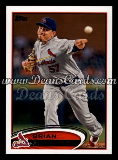 2012 Topps Update #219  Brian Fuentes