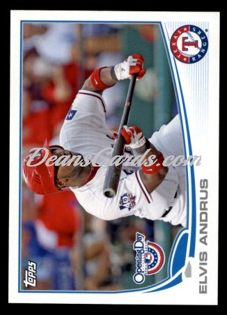2013 Topps Opening Day #51  Elvis Andrus