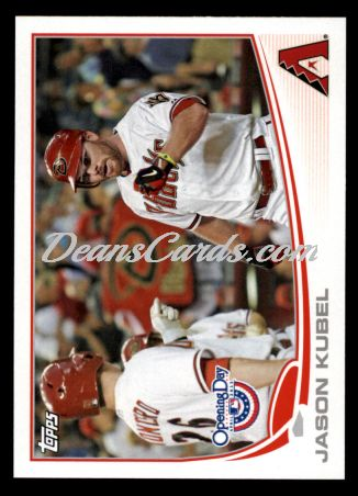 2013 Topps Opening Day #62  Jason Kubel