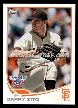 2013 Topps Opening Day #68  Barry Zito