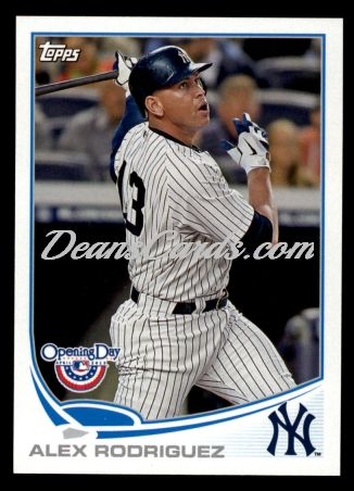 2013 Topps Opening Day #120  Alex Rodriguez