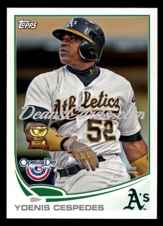 2013 Topps Opening Day #137  Yoenis Cespedes