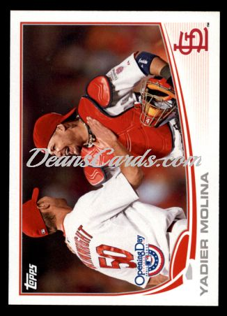 2013 Topps Opening Day #141  Yadier Molina
