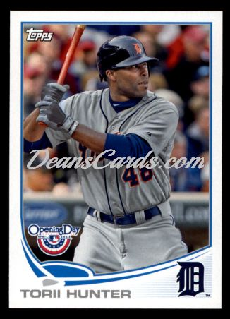 2013 Topps Opening Day #151  Torii Hunter