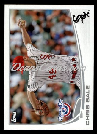2013 Topps Opening Day #177  Chris Sale