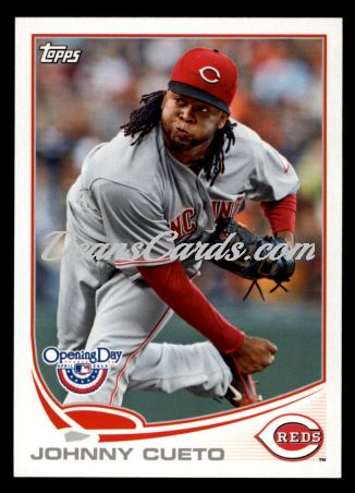 2013 Topps Opening Day #191  Johnny Cueto