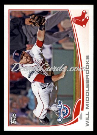 2013 Topps Opening Day #210  Will Middlebrooks