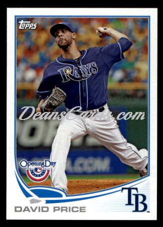 2013 Topps Opening Day #218  David Price