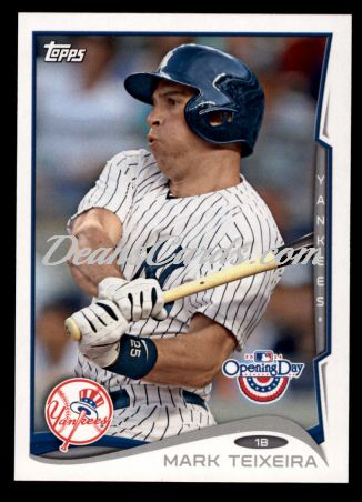2014 Topps Opening Day #12  Mark Teixeira