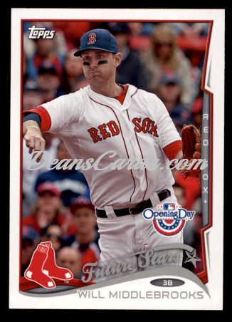 2014 Topps Opening Day #75  Will Middlebrooks