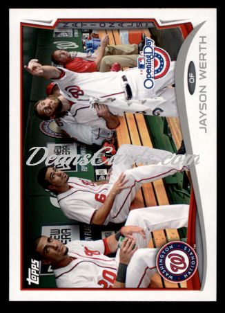 2014 Topps Opening Day #87  Jayson Werth