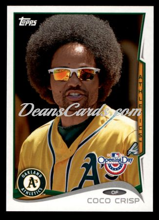 2014 Topps Opening Day #92  Coco Crisp