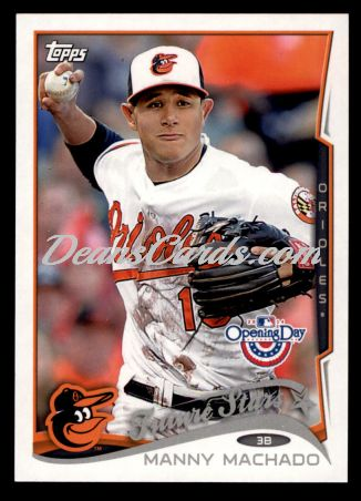 2014 Topps Opening Day #128  Manny Machado