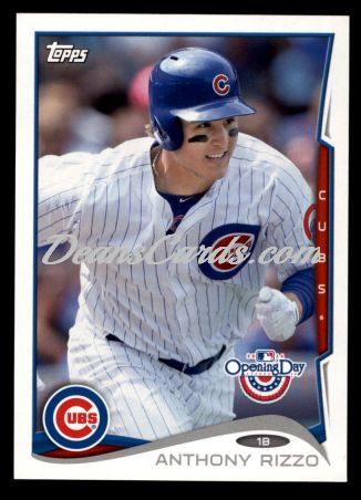 2014 Topps Opening Day #136  Anthony Rizzo