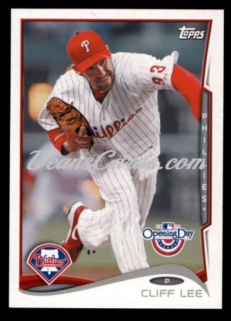 2014 Topps Opening Day #215  Cliff Lee