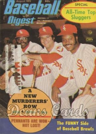 1973 Baseball Digest   -  Allen / May / Melton  August