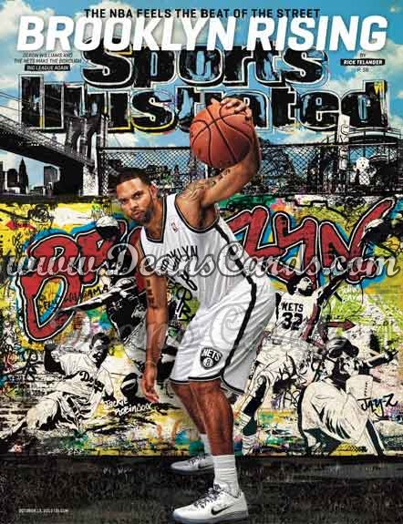 2012 Sports Illustrated - With Label   October 15  -  Deron Williams / Brooklyn Nets / Brooklyn Rising