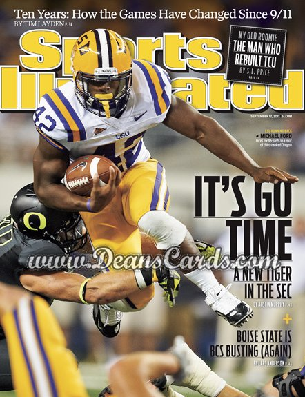 2011 Sports Illustrated   September 12  -  Michael Ford / LSU Tigers / It's Go Time