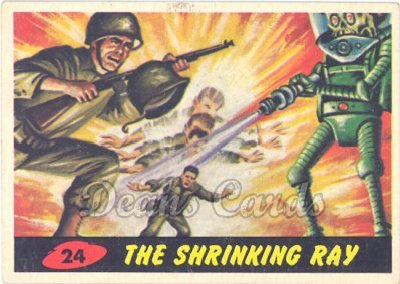 # 24 The Shrinking Ray - 1962 Mars Attacks REPRINT