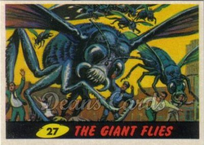 # 27 The Giant Flies - 1962 Mars Attacks REPRINT