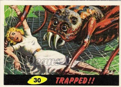 # 30 Trapped - 1962 Mars Attacks REPRINT