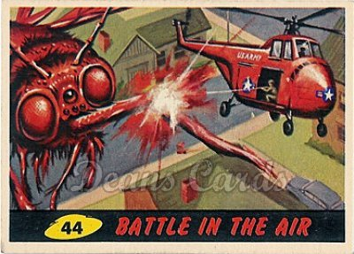 # 44 Battle in the Air - 1962 Mars Attacks REPRINT