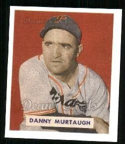 1949 Bowman REPRINT #124  Danny Murtaugh