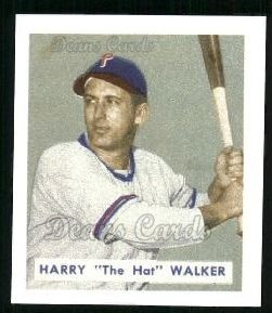 1949 Bowman REPRINT #130  Harry Walker