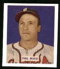 1949 Bowman REPRINT #153  Phil Masi