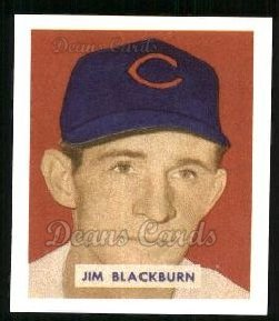 1949 Bowman REPRINT #160  Jim Blackburn
