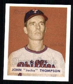 1949 Bowman REPRINT #161  Jocko Thompson