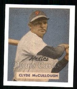 1949 Bowman REPRINT #163  Clyde McCullough