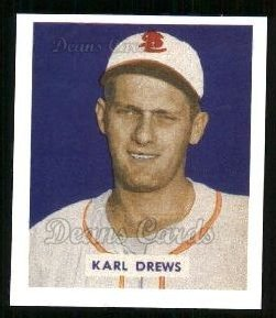 1949 Bowman REPRINT #188  Karl Drews