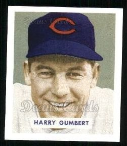 1949 Bowman REPRINT #192  Harry Gumbert