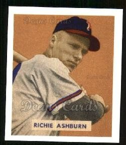 1949 Bowman REPRINT #214  Richie Ashburn